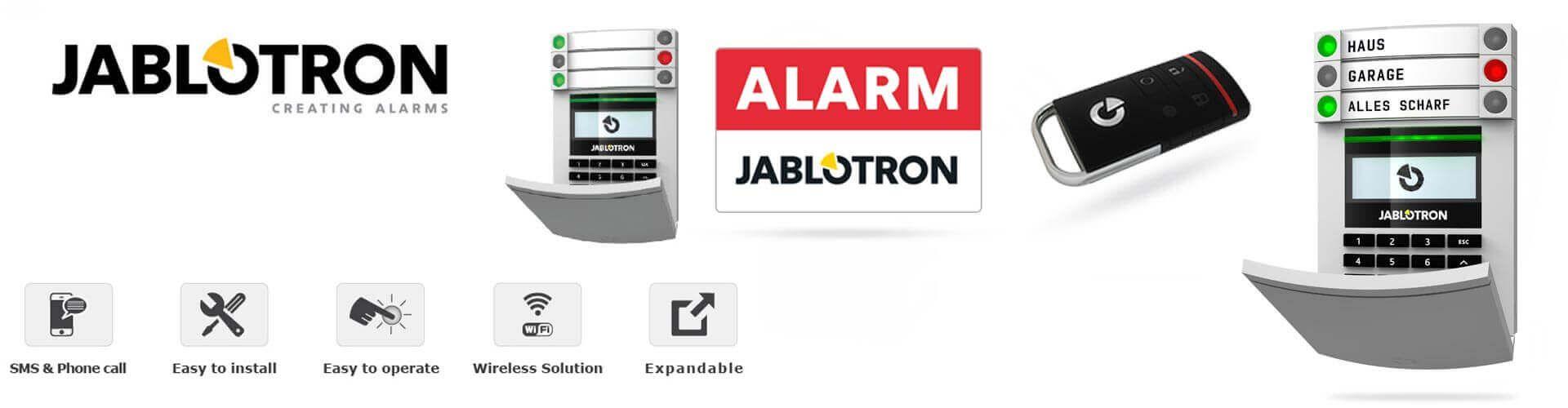 Báo động chống trộm Jablotron