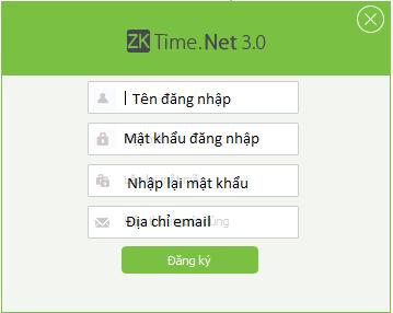 Hướng dẫn sử dụng phần mềm ZKTime net 3.0
