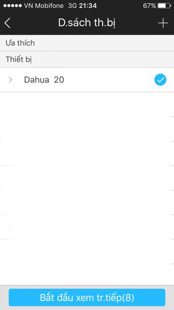 Hướng dẫn cài đặt xem Camera Dahua trên điện thoại