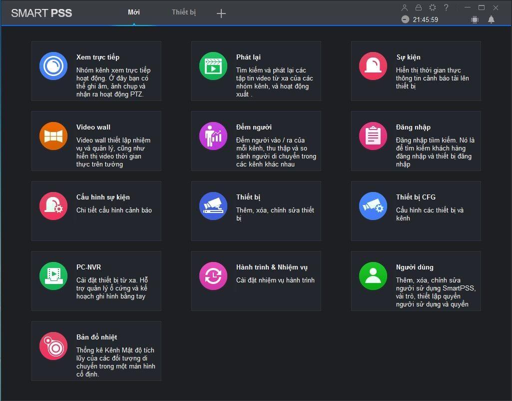 Hướng dẫn xem camera Dahua trên máy tính bằng phần mềm SmartPSS