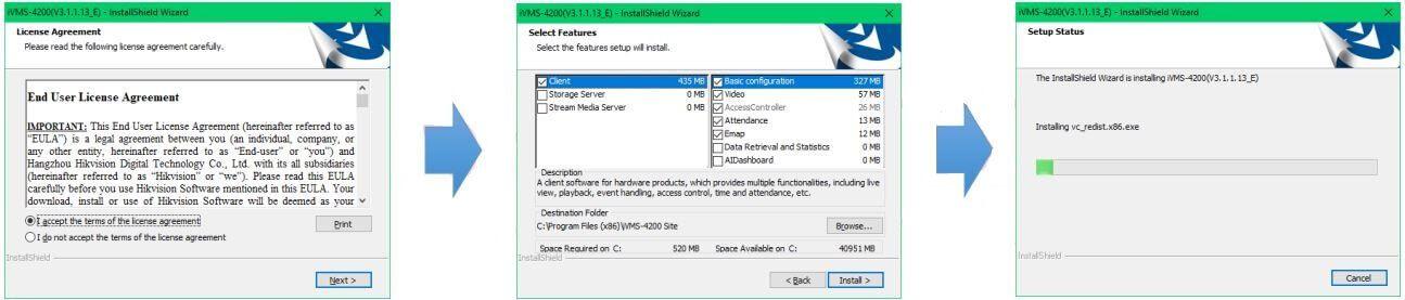 Hướng dẫn cài đặt phần mềm iVMS4200
