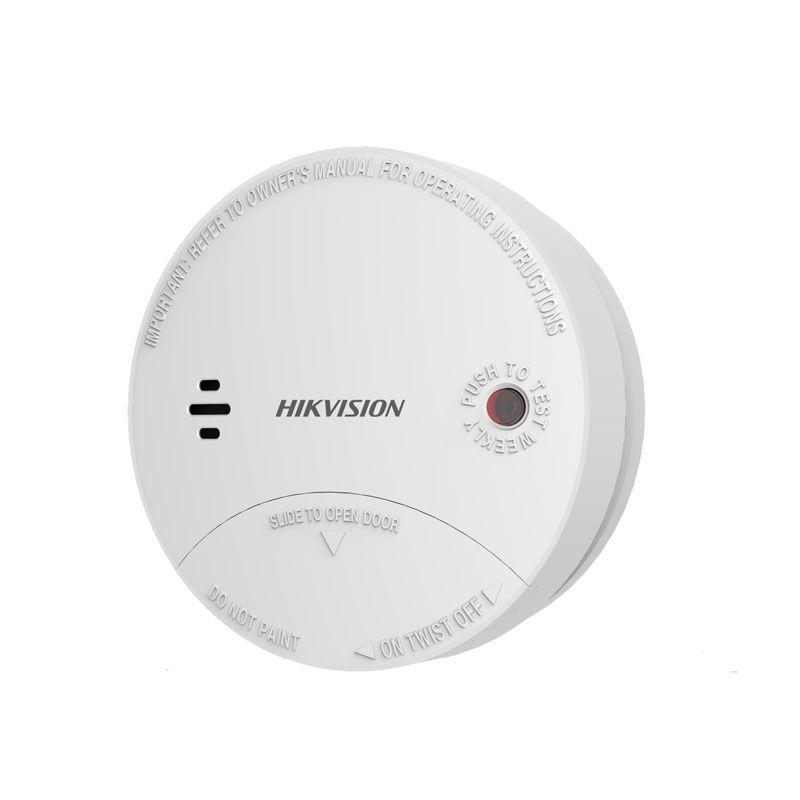 Đầu báo khói không dây Hikvision DS-PD1-SMK-W
