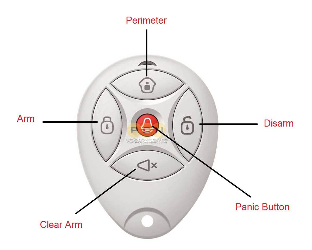 Hướng dẫn sử dụng remote điều khiển từ xa Hikvision DS-19K00-Y
