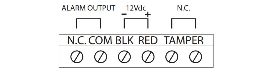 Cách đấu dây cảm biến Paradox NV5