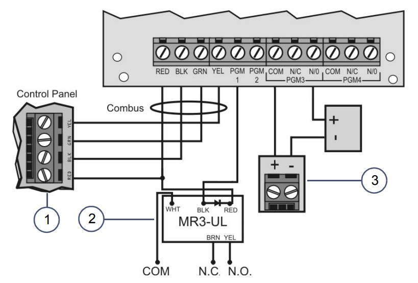 Cách đấu dây và sử dụng Paradox RTX3
