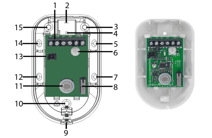 Tổng quan cảm biến báo động hồng ngoại Paradox NV5 loại đi dây