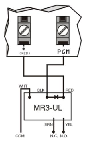 Hình 3 - Kết nối đầu ra PGM 50mA