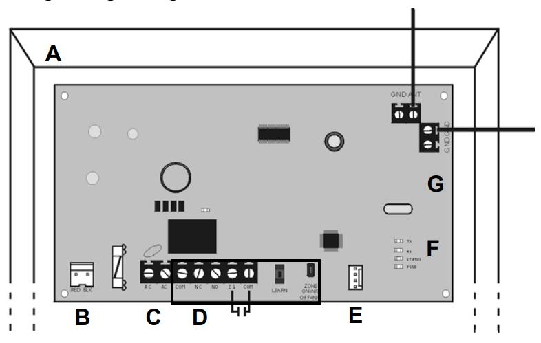 Hướng dẫn lắp đặt Module Paradox RPT1