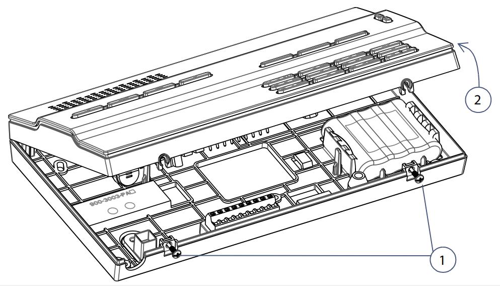 Hướng dẫn lắp Module SIM Paradox GPRS14 vào tủ trung tâm MG6250
