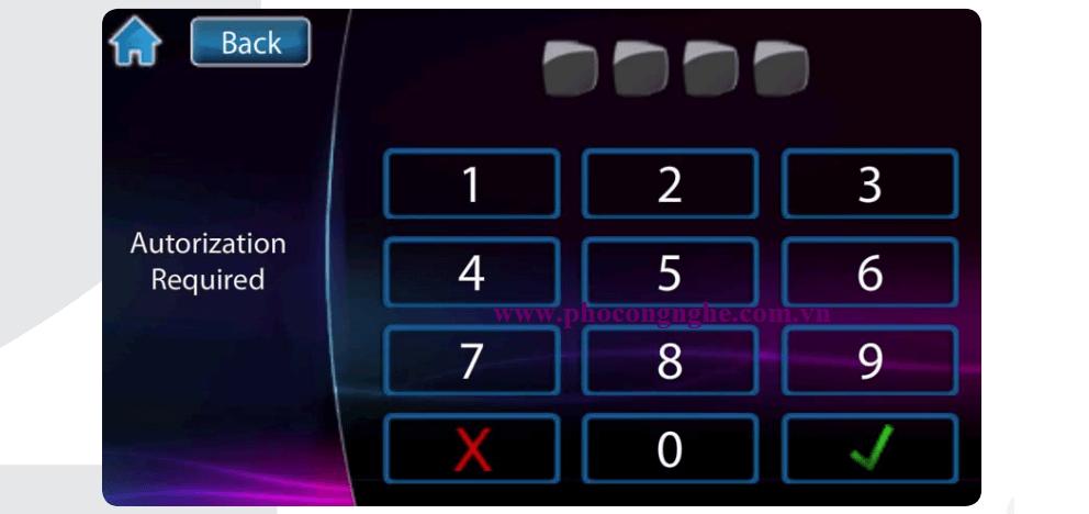 Hướng dẫn sử dụng bàn phím cảm ứng Paradox TM50-hình 1
