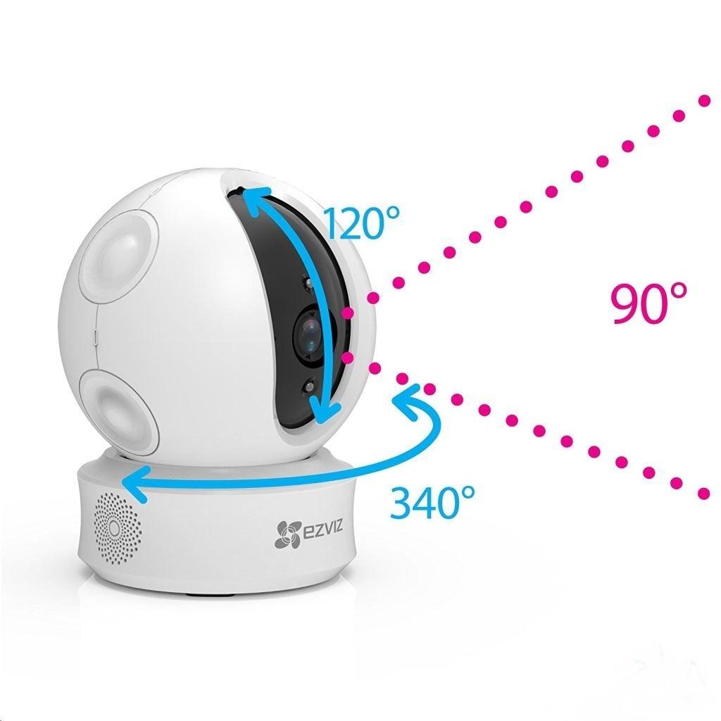 Camera wifi 360 độ tự động quay quét
