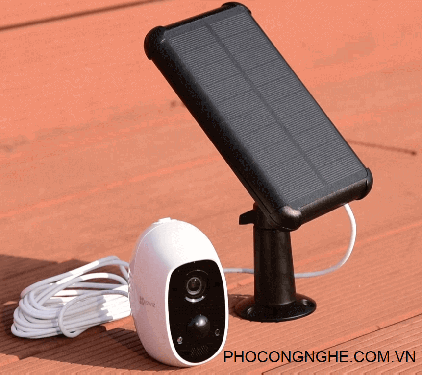 Pin mặt trời CS-CMT-Solar Panel dùng cho camera Ezviz C3A