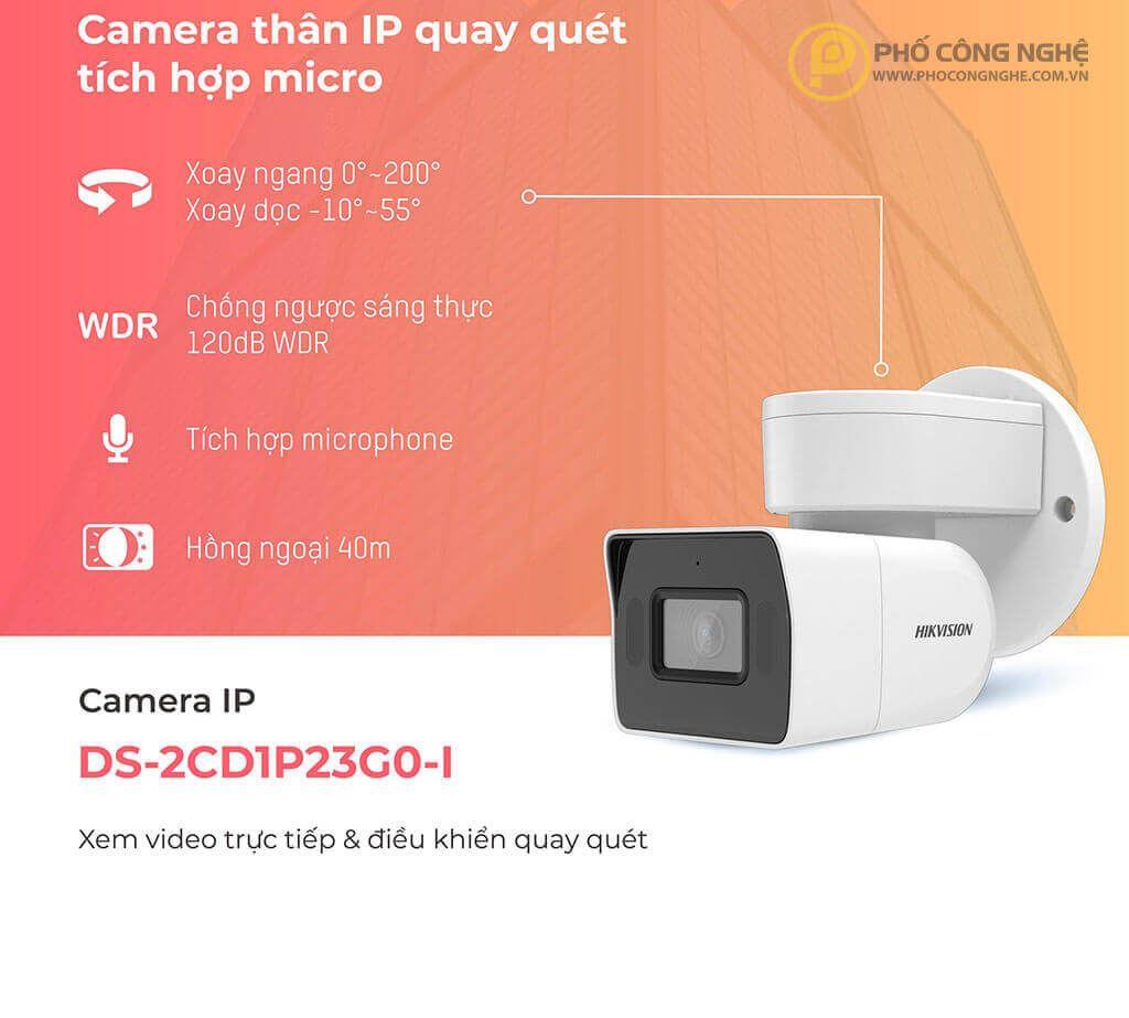 Hikvision DS-2CD1P23G0-I