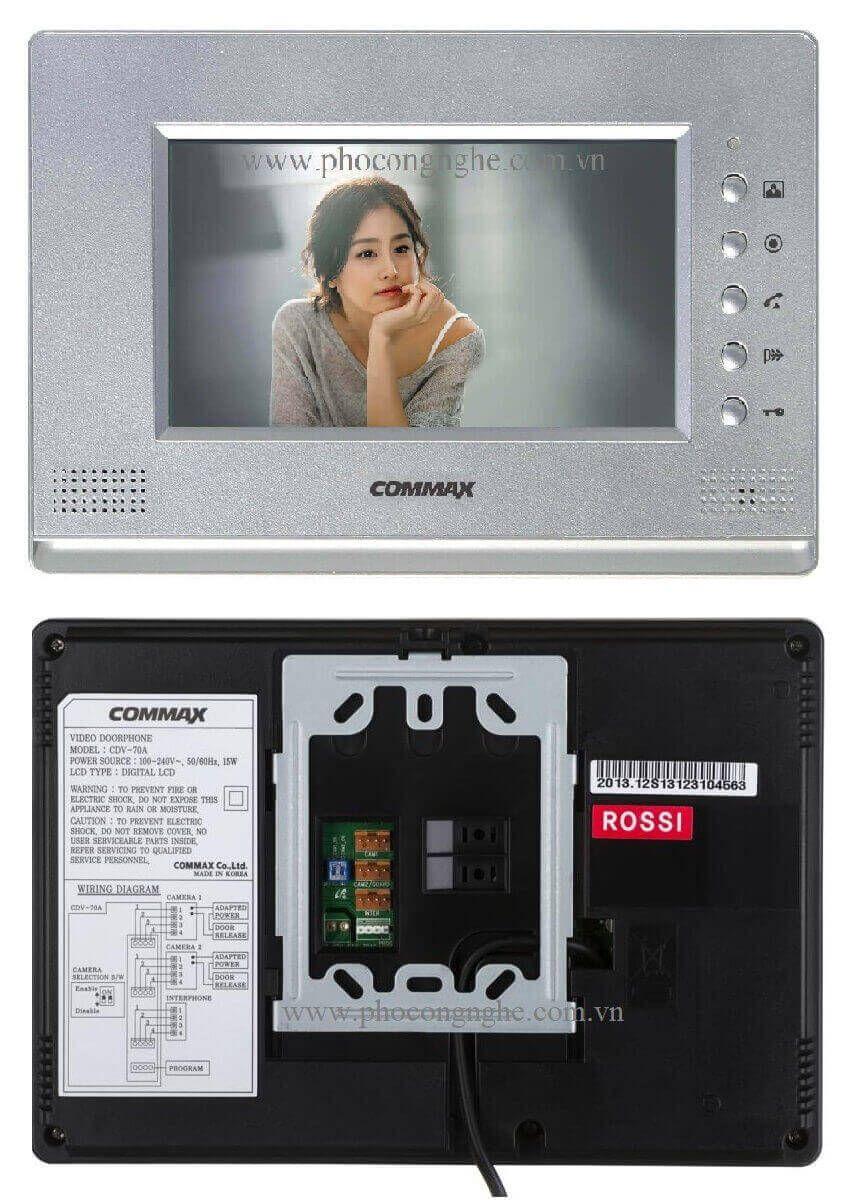 Màn hình chuông cửa 7 inch Commax CDV-70A
