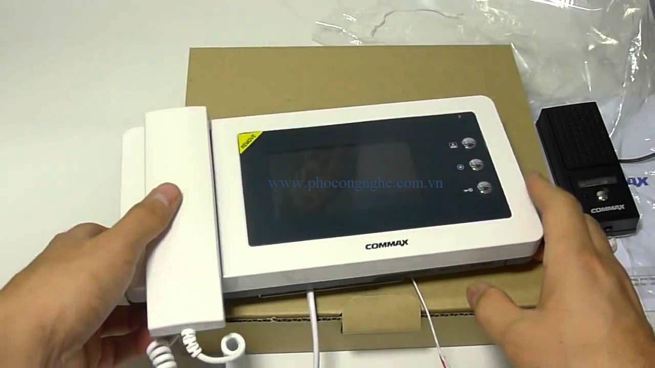 Màn hình chuông cửa 4,3 inch Commax CDV-43N