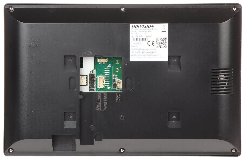 Mặt sau màn hình chuông cửa IP Hikvision DS-KH8520-WTE1