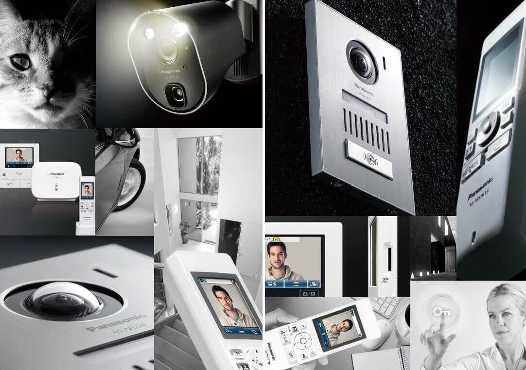 Panasonic VL-SWD501 tích hợp nhiều công nghệ hữu ích của