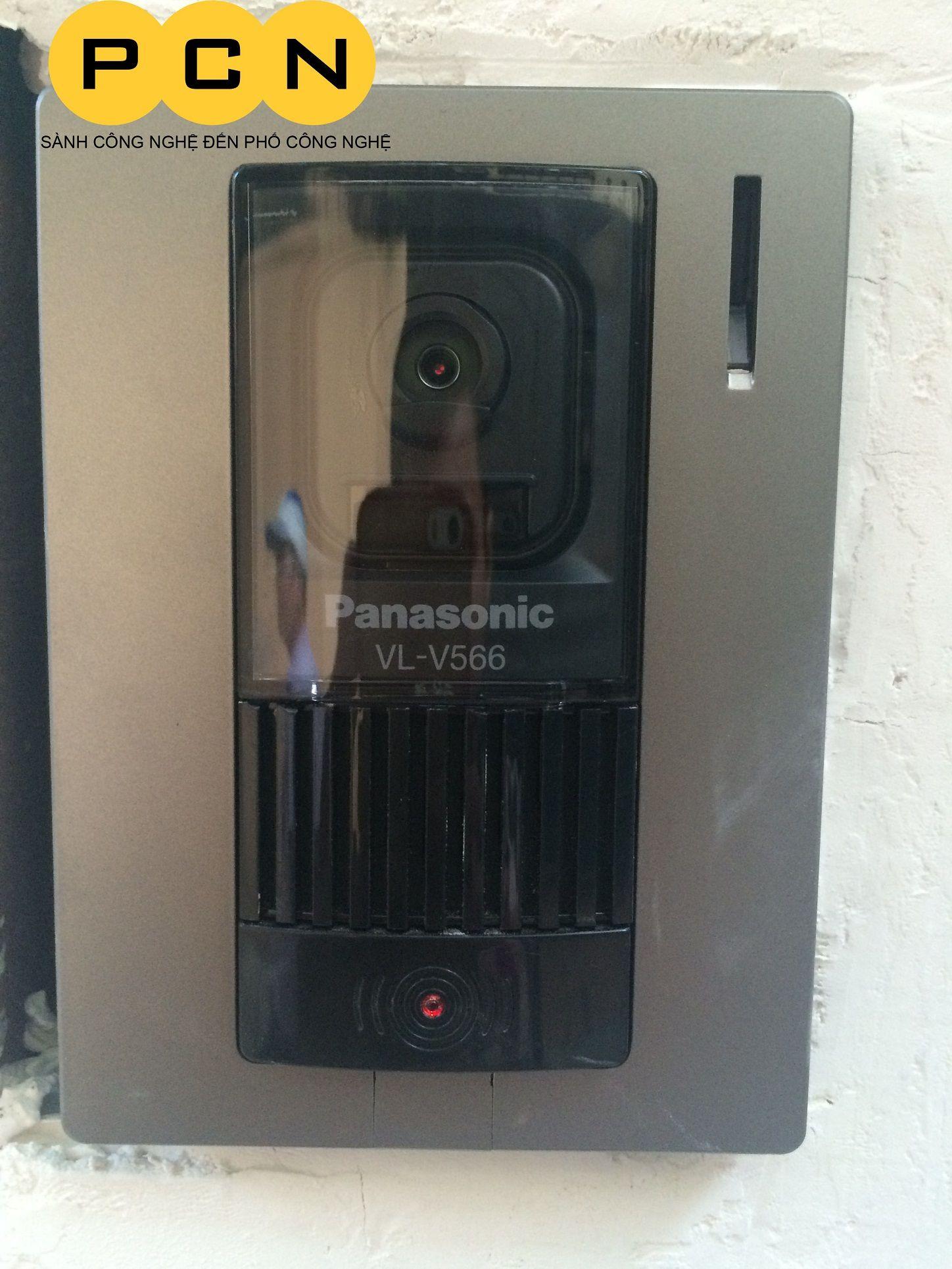 Nút bấm camera chuông cửa màu Panasonic VL-V522L