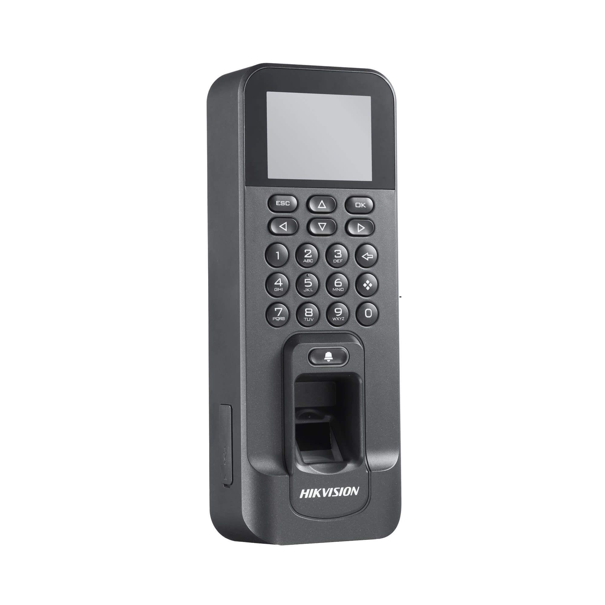 Máy chấm công vân tay Hikvision SH-K2T804F