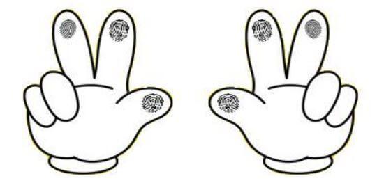 Cách lấy vân tay Máy chấm công vân tay Nitgen eNBioAccess-T1