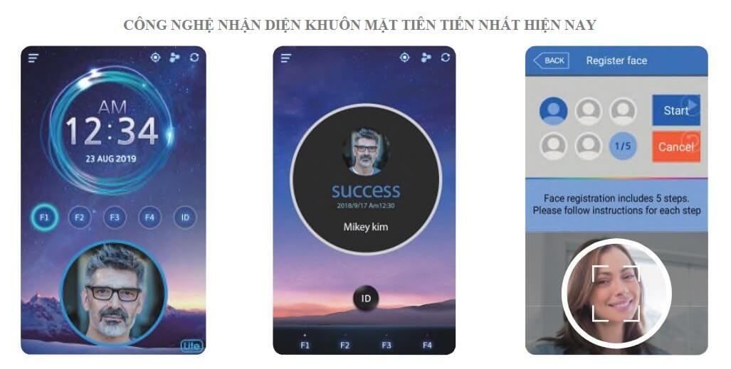 Công nghệ nhận dạng khuôn mặt siêu nhanh trên Nitgen UBio-X Pro Lite