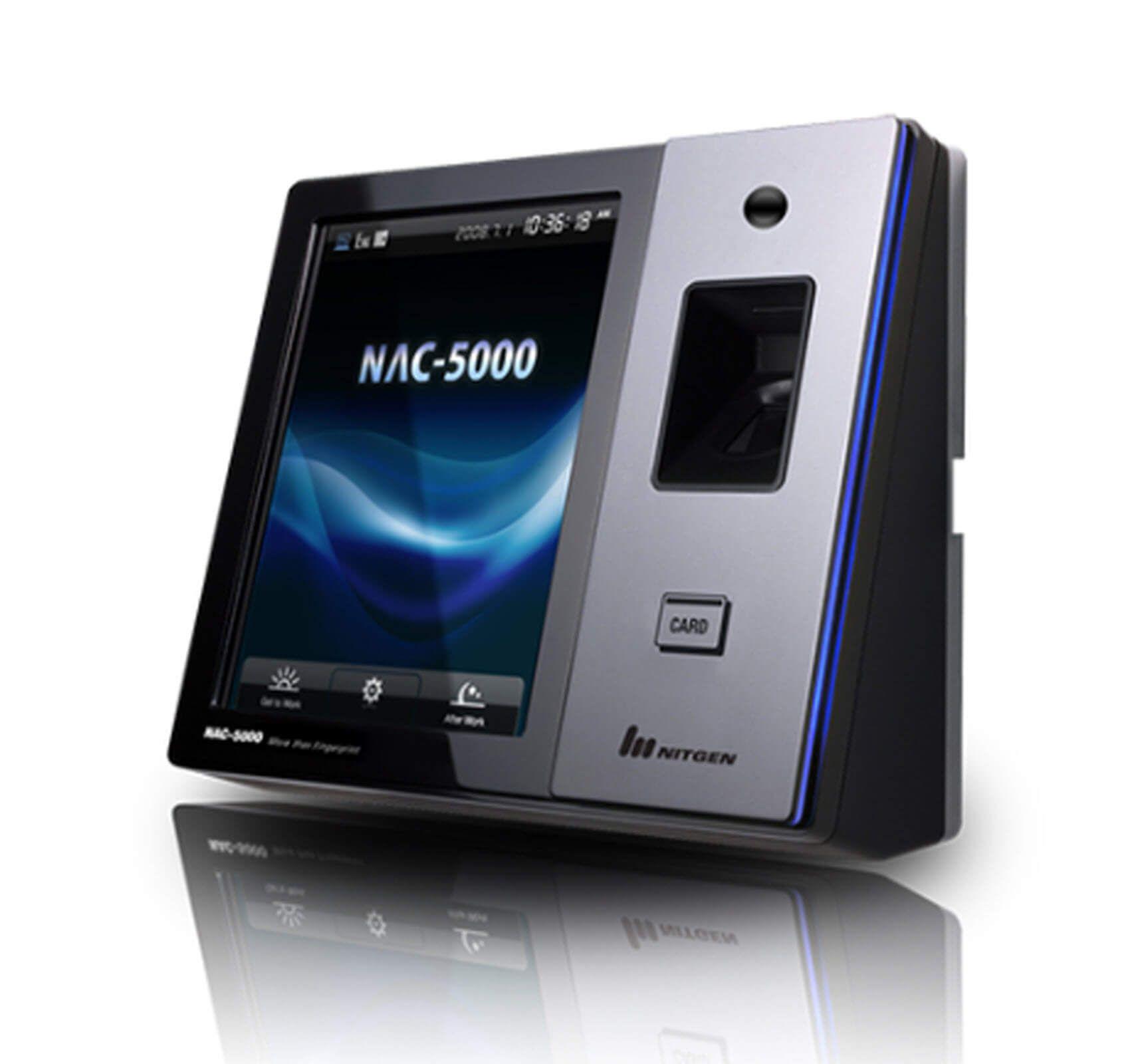 Máy chấm công vân tay và nhận diện khuôn mặt Nitgen NAC 5000F