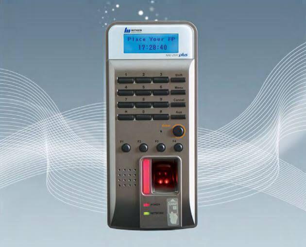 Máy chấm công vân tay Nitgen NAC 2500 Plus