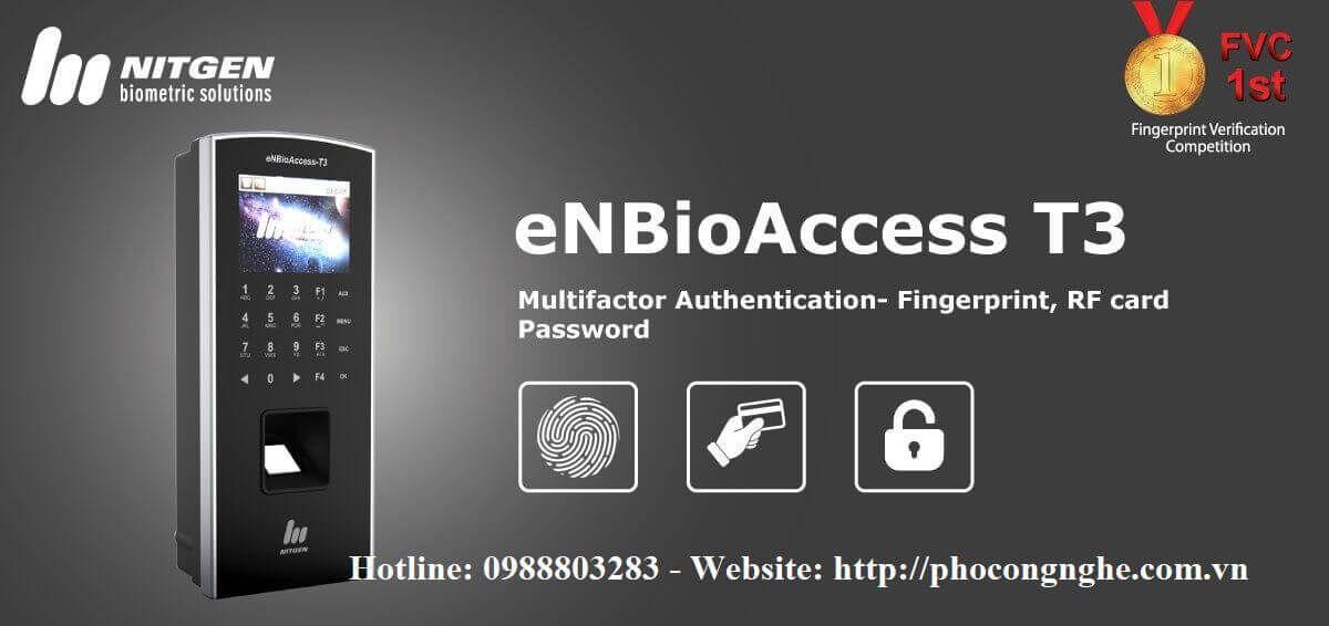 Máy chấm công vân tay Nitgen eNBioAccess-T3
