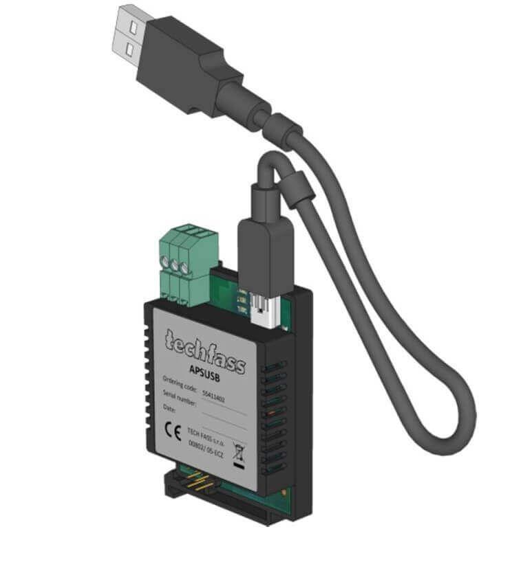Bộ chuyển đổi RS485 sang USB Techfass APSUSB