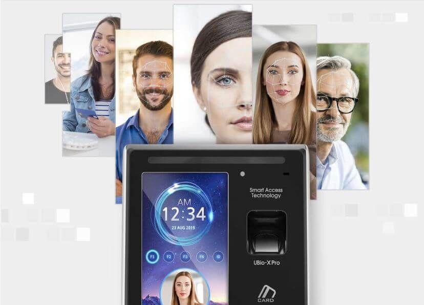 Công nghệ nhận dạng khuôn mặt siêu nhanh trên VIRDI UBio-X Pro Lite