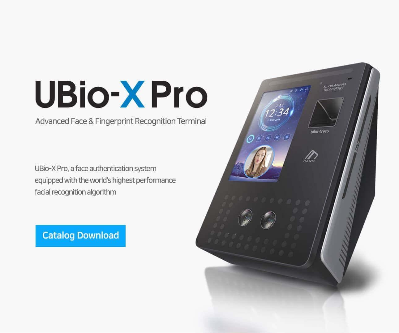 Thiết bị kiểm soát vào ra bằng vân tay và khuôn mặt VIRDI UBio-X Pro