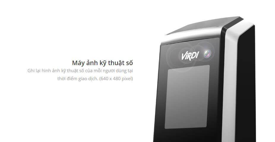 Thiết bị kiểm soát vào ra và chấm công tay VIRDI AC-2200