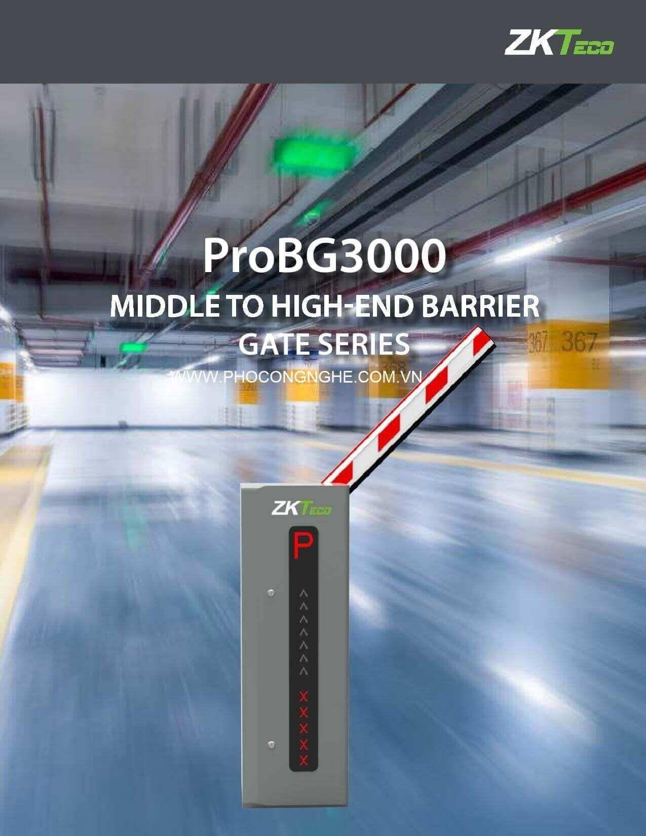 Barrier tự động ZKTeco ProBG3000