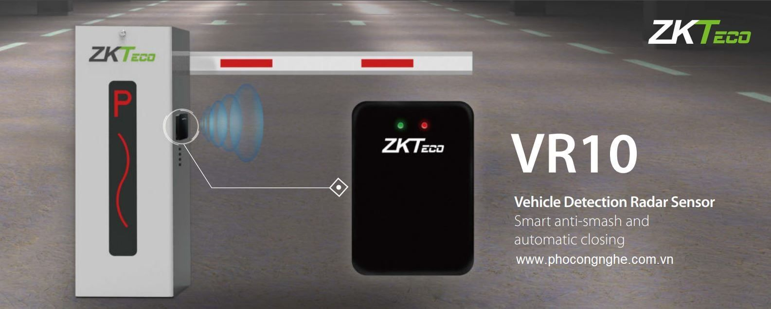 Cảm biến Rada an toàn ZKTeco VR10
