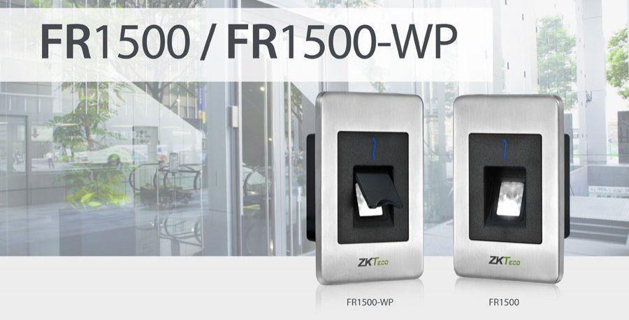 Đầu đọc thẻ vân tay kiểm soát cửa ZKTeco FR1500