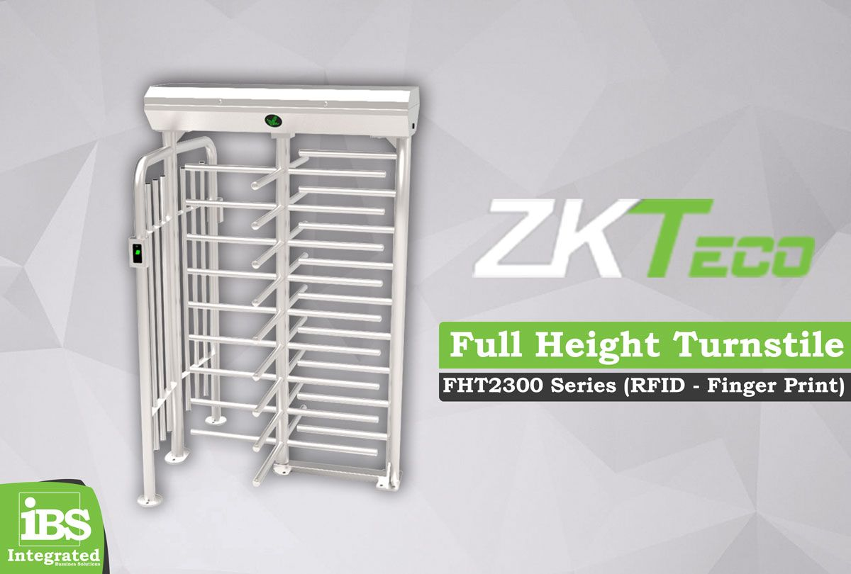 Cổng xoay Full Height kiểm soát vào ra ZKTeco FHT2300