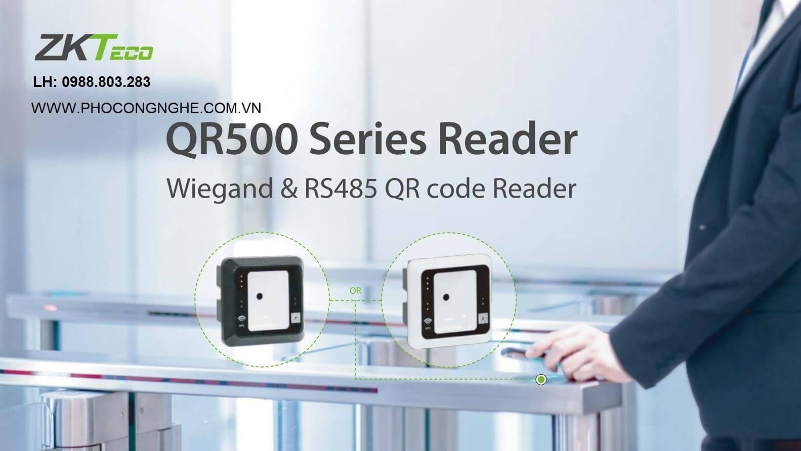 Đầu đọc QR Code ZKTeco QR500