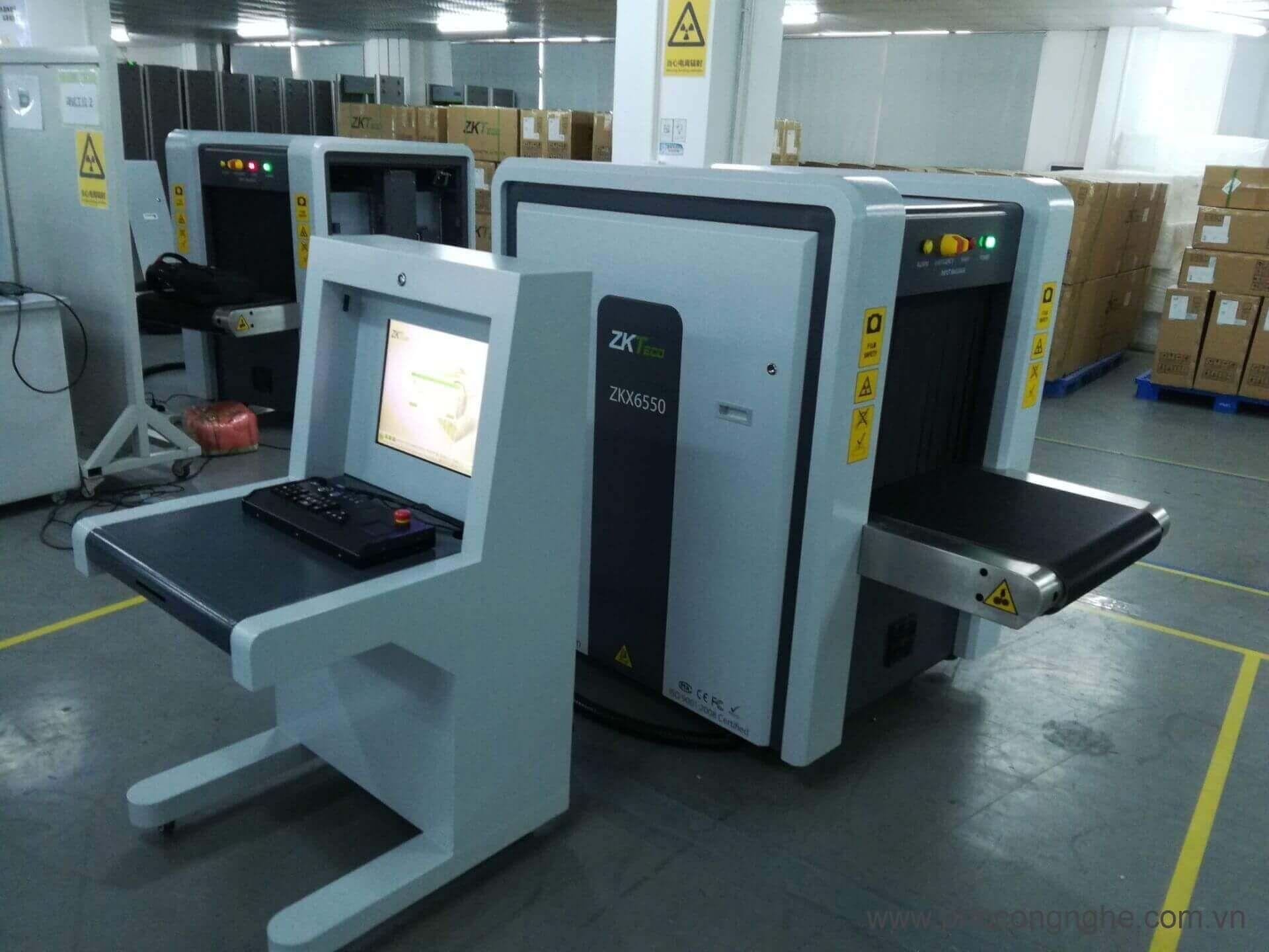 Máy soi hành lý bằng tia X ZKTeco ZKX6550