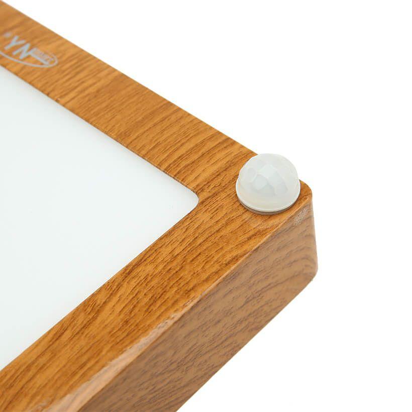 Đèn LED ốp trần vân gỗ cảm ứng Duxa PN12