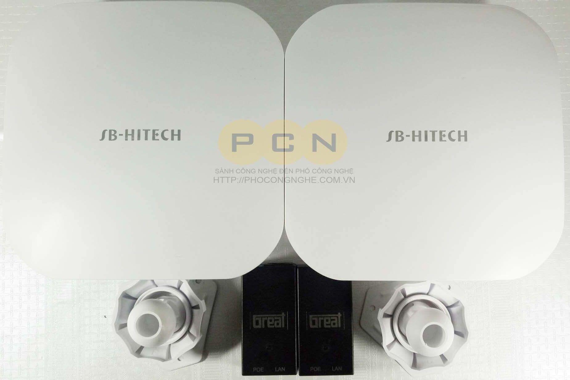 Bộ thu phát tín hiệu không dây Camera IP SB-HITECH SB-156HW-(2km)