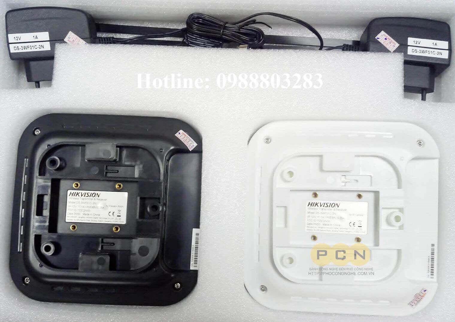 Bộ thu phát không dây Camera IP trong thang máy HIKvision DS-3WF01C-2N