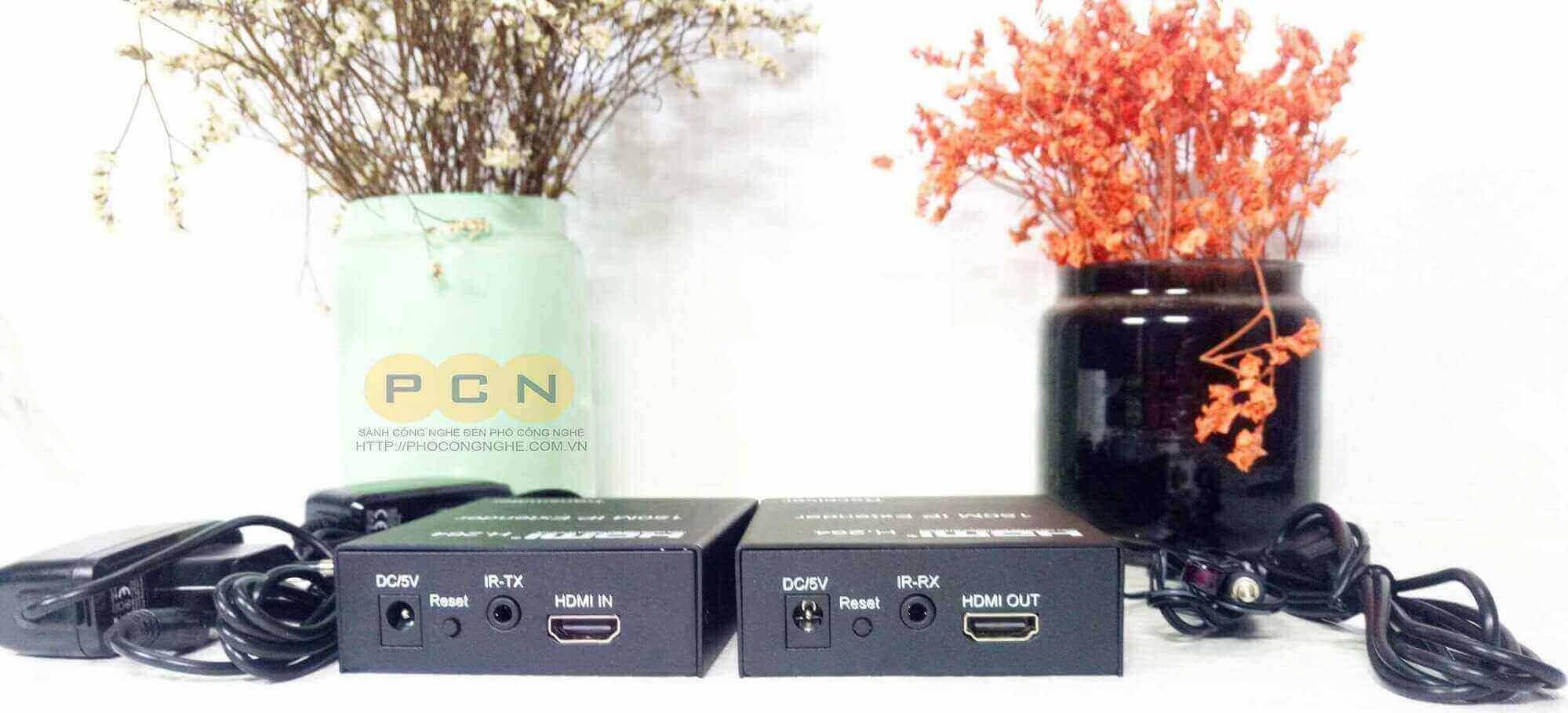 Bộ nối dài HDMI 150M qua LAN