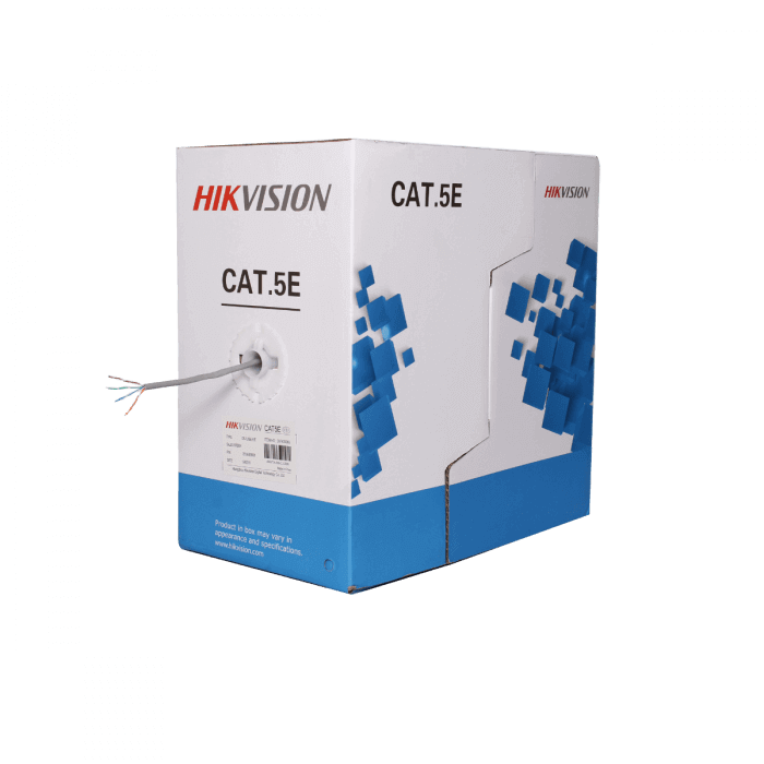 Dây cáp mạng Cat5e Hikvision DS-1LN5E-E/E