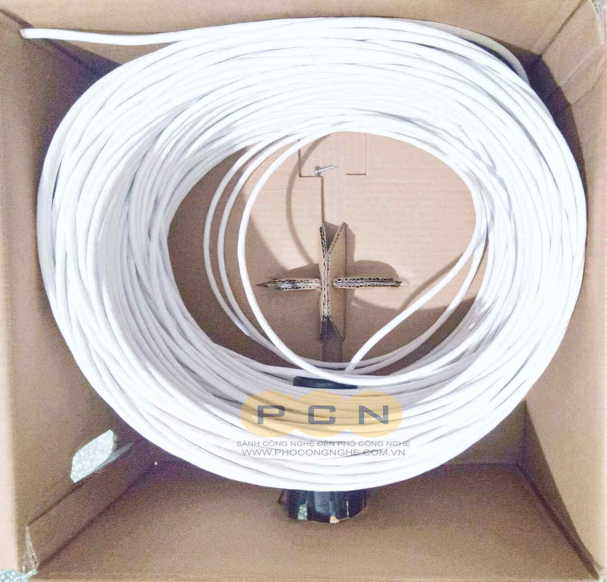 Dây cáp mạng Cat6 Hikvision DS-1LN6-UE-W