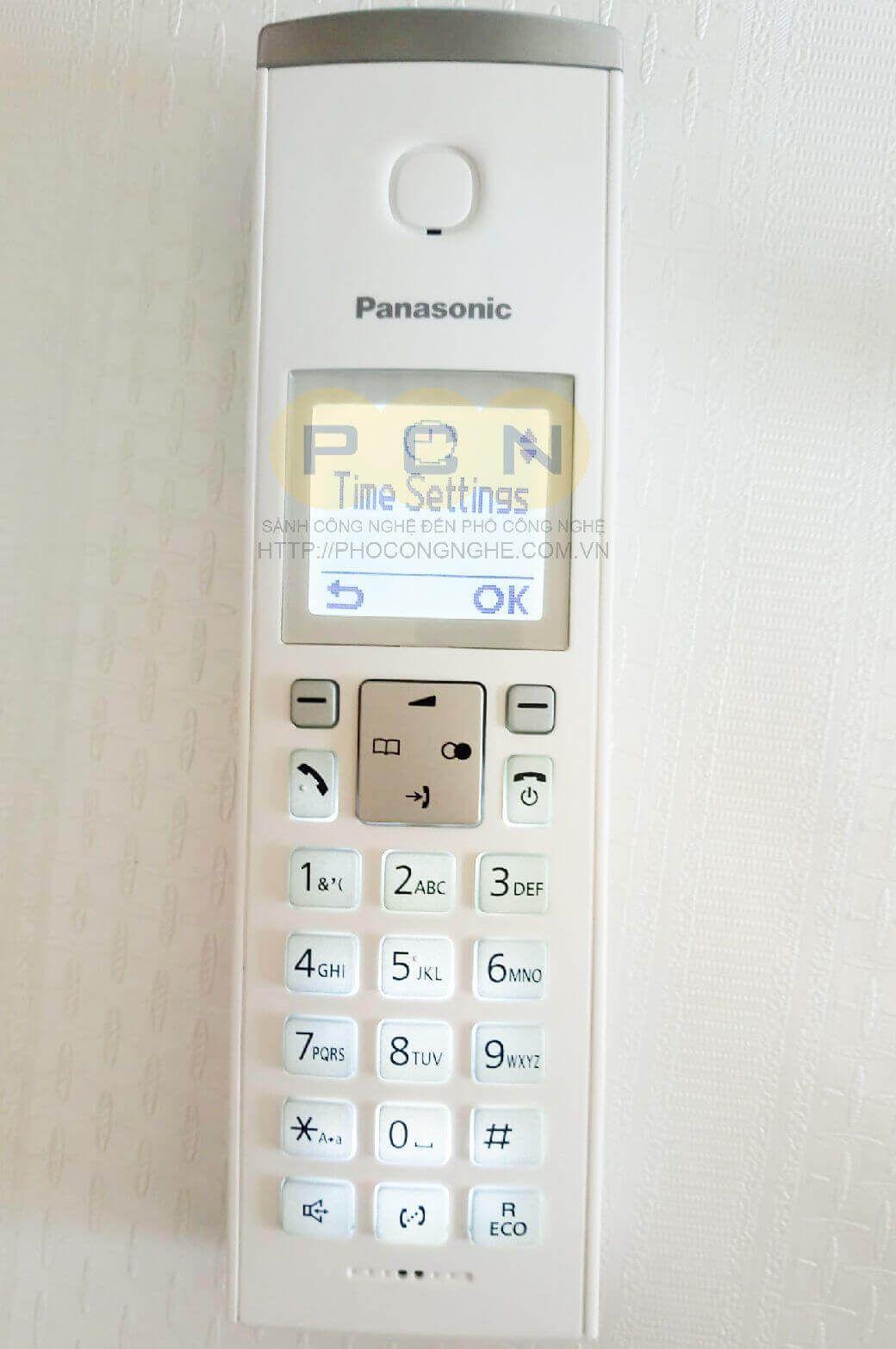 Điện thoại bàn không dây Panasonic KX-TGK210