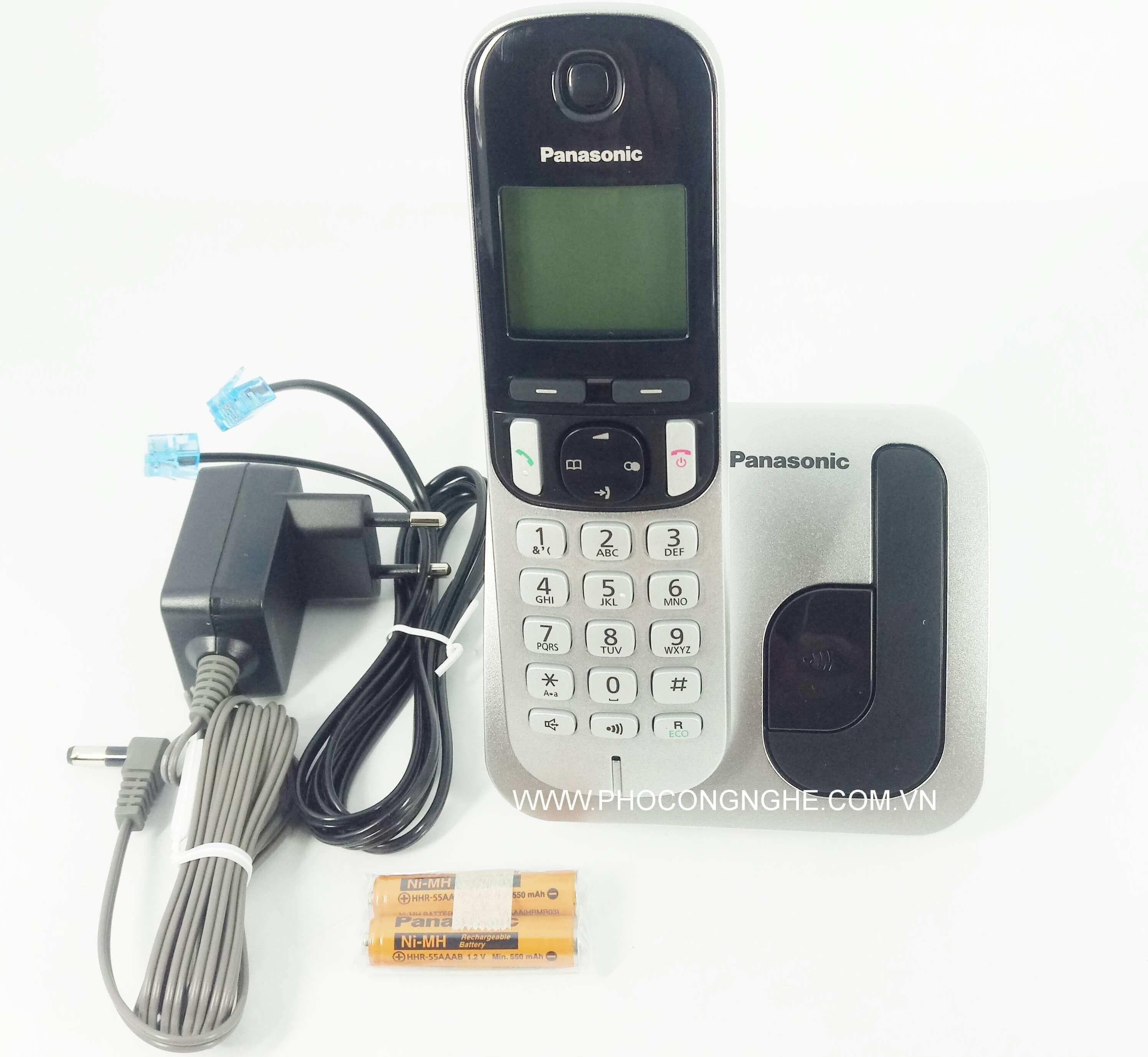 Điện thoại Panasonic KX-TGC210 tay cầm không dây