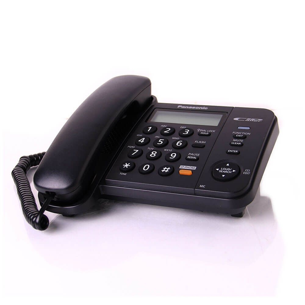 Điện thoại để bàn Panasonic KX-TS580 - Màu đen