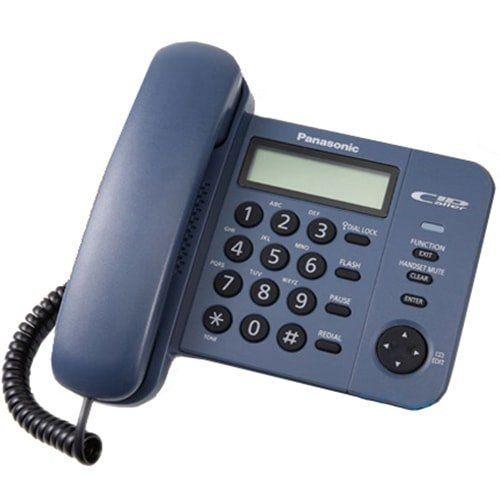 Điện thoại để bàn Panasonic KX-TS580 xanh tím than
