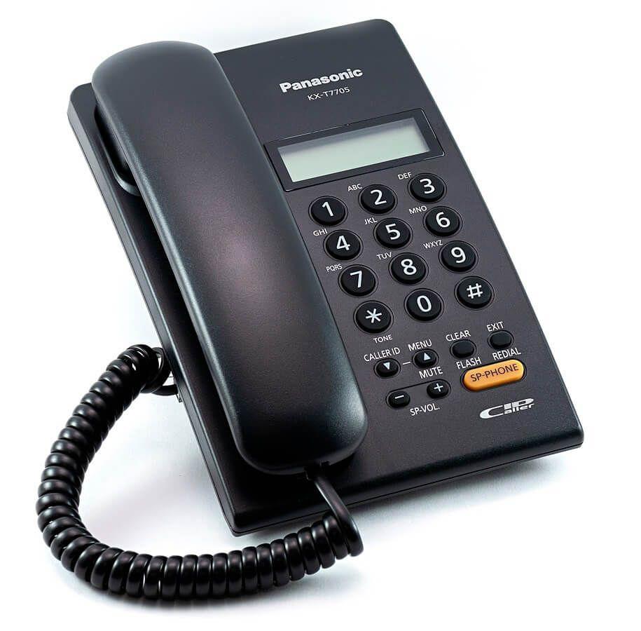 Điện thoại để bàn Panasonic KX-T7705 màu đen