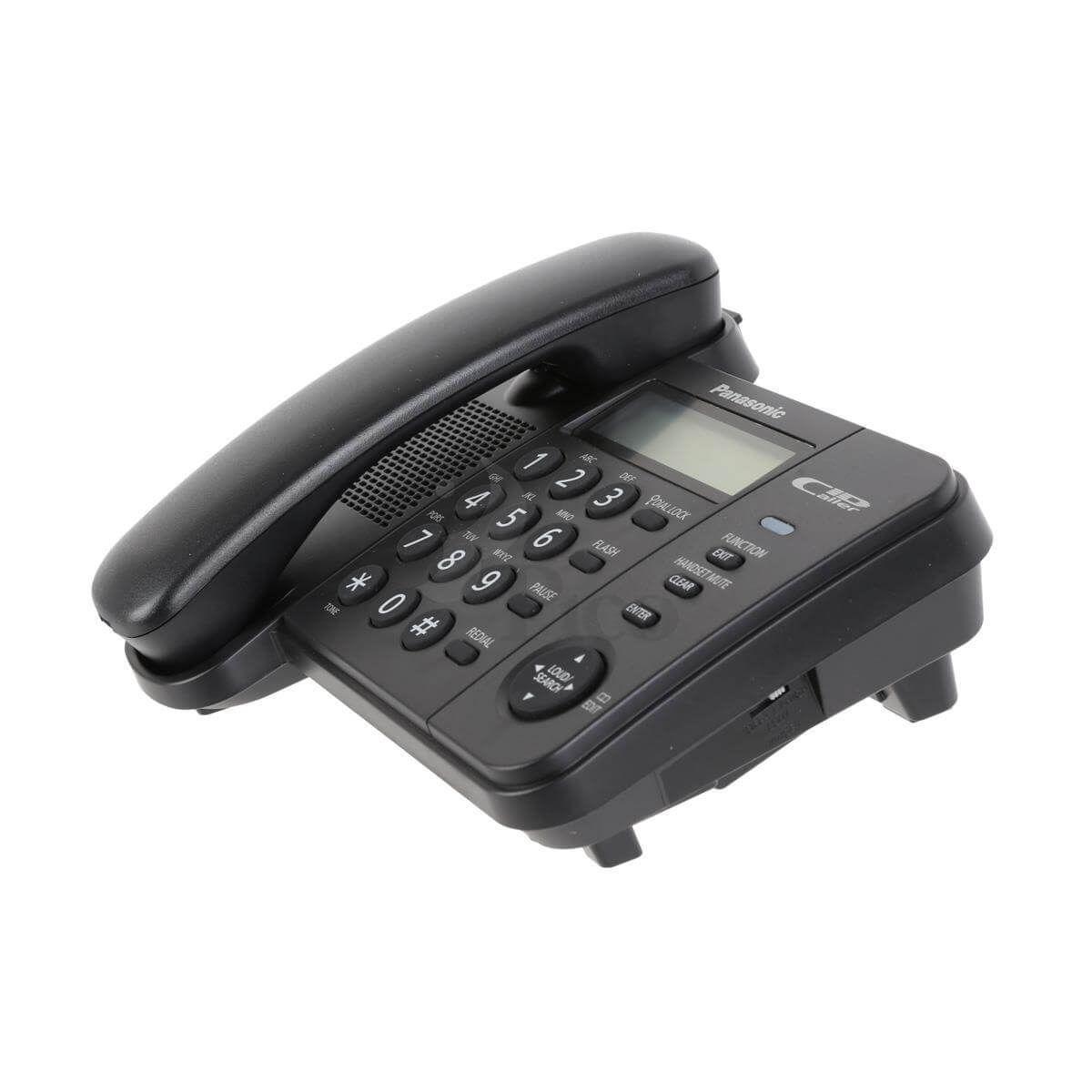 Điện thoại để bàn Panasonic KX-TS560 - Màu đen